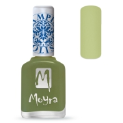 Moyra Stampinglack 15 Light Green 12ml