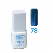UV/LED Gel Lack Cat's eye-Effect 78 Blue cornflower