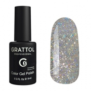 Grattol UV/LED Gel Lack Opal Silver 9ml