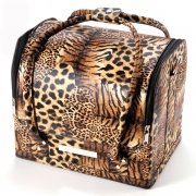 Cosmetic case (Leopard)